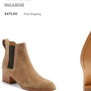 "Rag and bone "" walker"" bootie"